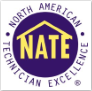 Total Comfort Mechanical's Service Techs are NATE certified