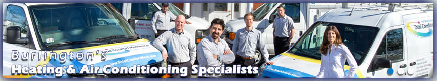 Heating & Air Conditioning Specialists, Burlington MA