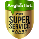 The Super Service Award  reflects Total Comfort Mechanical's  consistently high level of customer service.