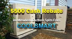 Cash Rebates available!