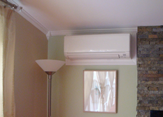 Mr. Slim Ductless Mini Split AC installed