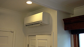 Wall Mounted Ductless Mini Split AC
