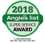 2018 Angie's List Super Sevice Award