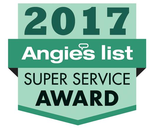 2017 Angie's List Super Service Award