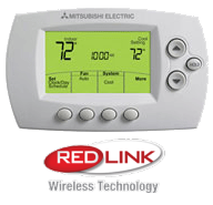 Mitsubishi Wireless Digital Programmable Thermostat