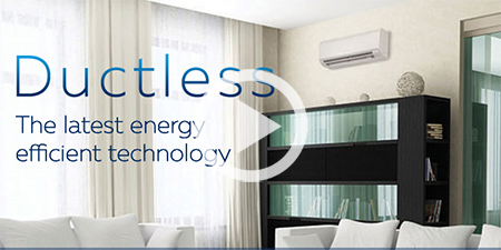 mitsubishi air conditioner used where electric can products heat ductless pump be