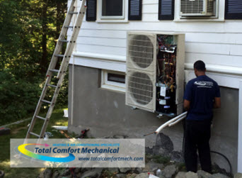 Click to view our Mitsubishi Ductless Air Conditioning Installations!