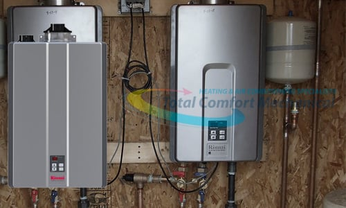 Tankless Water Heater Photoshop
