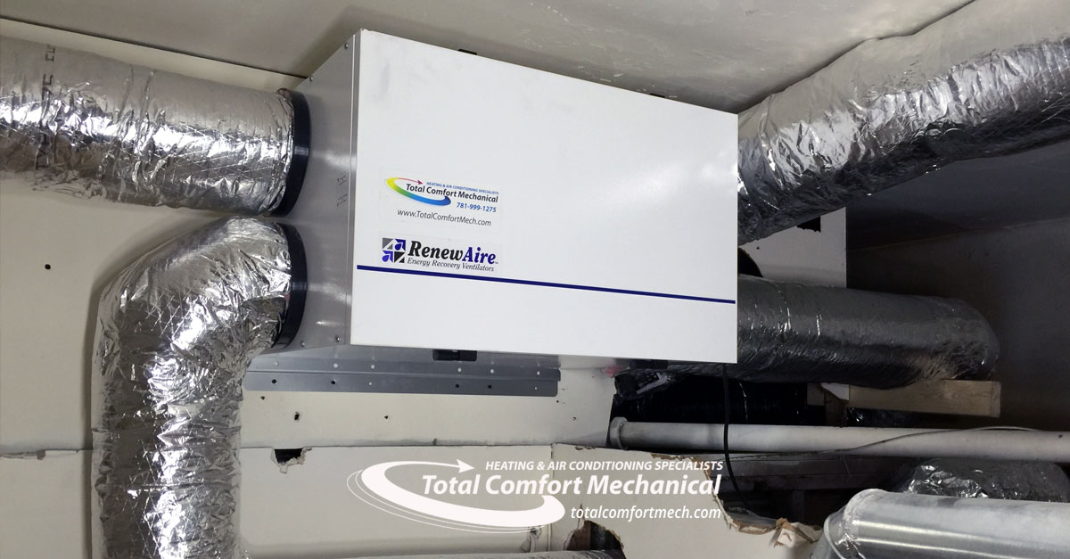 Renew-Aire ERV Installation Burlington, MA