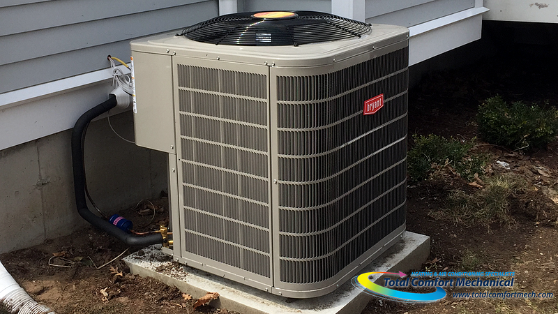 Bryant condenser installation, Burlington MA - Request a free estimate