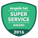 Total Comfort Mechanical has received the annual Angie's List Super Service Award consecutively since 2013