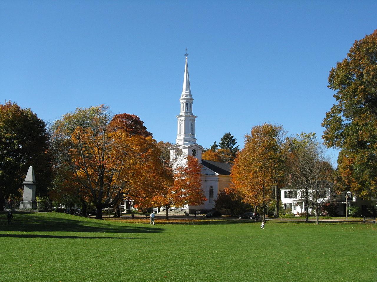 Lexington, MA - Font: Google Images