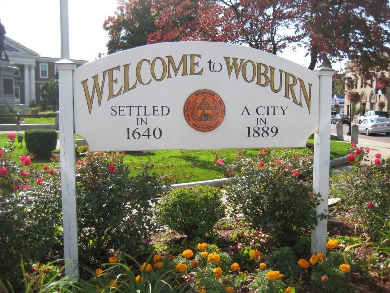 Woburn, MA - Font: Google Images