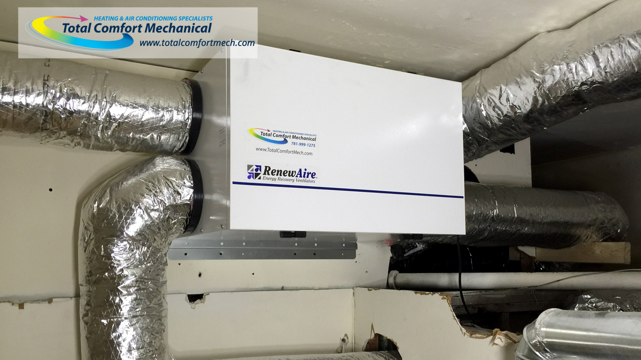 RenewAire Energy Recovery Ventilation System