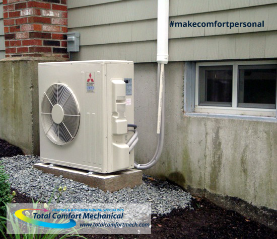 Mitsubishi Ductless Heating & Cooling - Outdoor Unit